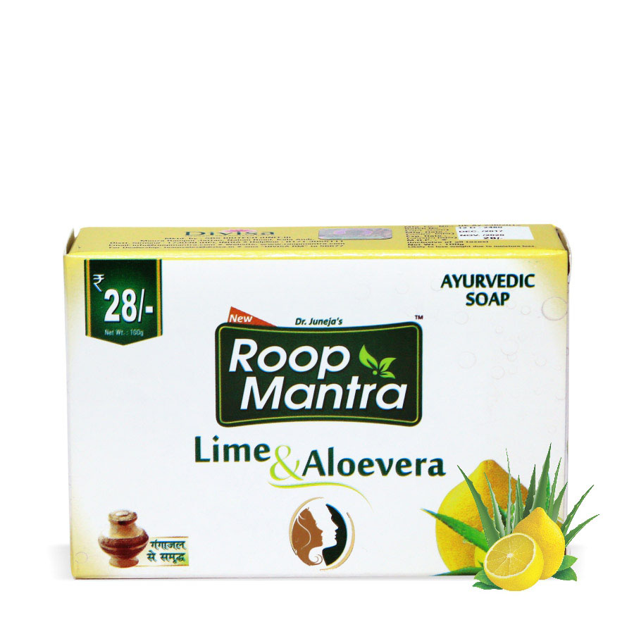 Roopmantra-ayurvedic-lime-and-aloevera-soap